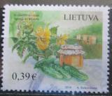 Poštovní známka Litva 2016 Okurky s medem Mi# 1221