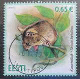 Poštovní známka Estonsko 2016 Myšivka horská Mi# 870