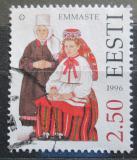 Poštovní známka Estonsko 1996 Lidové kroje Mi# 275