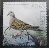 Poštovní známka Estonsko 2017 Hrdlička divoká Mi# 882