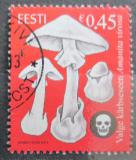 Poštovní známka Estonsko 2012 Muchomůrka jízlivá Mi# 740