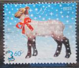 Poštovní známka Estonsko 2002 Vánoce Mi# 451