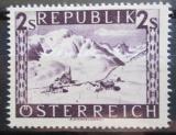 Poštovní známka Rakousko 1947 St. Christoph am Arlberg Mi# 851