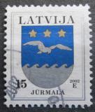 Poštovní známka Lotyšsko 2002 Znak Jurmala Mi# 522 III