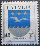 Poštovní známka Lotyšsko 2001 Znak Jurmala Mi# 522 II