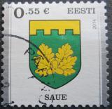 Poštovní známka Estonsko 2014 Znak Saue Mi# 806