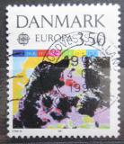 Poštovní známka Dánsko 1991 Evropa CEPT, teplota vody Mi# 1000