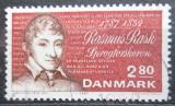 Poštovní známka Dánsko 1987 Rasmus Rask, lingvista Mi# 903