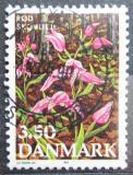 Poštovní známka Dánsko 1990 Květiny Mi# 982