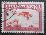 Poštovní známka Dánsko 1991 Staré letadlo Mi# 742