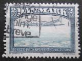 Poštovní známka Dánsko 1991 Moderní letadlo Mi# 743