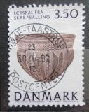 Poštovní známka Dánsko 1992 Hliněná nádoba Mi# 1018
