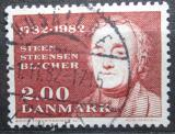 Poštovní známka Dánsko 1982 Steen Blicher, spisovatel Mi# 761