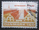 Poštovní známka Dánsko 1981 Nyboder, 150. výročí Mi# 729