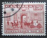 Poštovní známka Dánsko 1980 Poštovní služby Mi# 697