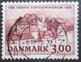 Poštovní známka Dánsko 1988 VŠ pedagogická, 200. výročí Mi# 927