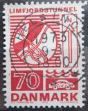Poštovní známka Dánsko 1972 Tunel Limfjord Mi# 534