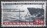Poštovní známka Dánsko 1984 Nákladní loď Mi# 813