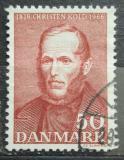 Poštovní známka Dánsko 1966 Christen Mikkelsen Kold Mi# 441
