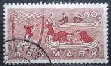 Poštovní známka Dánsko 1970 Lodě Vikingů Mi# 502