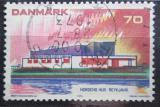 Poštovní známka Dánsko 1973 Severská architektura Mi# 545