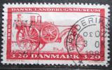 Poštovní známka Dánsko 1989 Parní traktor Mi# 953