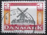 Poštovní známka Dánsko 1988 Mlýn Lumby Mi# 930