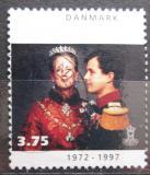 Poštovní známka Dánsko 1997 Královský pár Mi# 1143