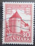 Poštovní známka Dánsko 1954 Zámek Nyborg Mi# 347