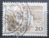 Poštovní známka Dánsko 1962 Útesy ostrova Moen Mi# 408