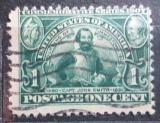 Poštovní známka USA 1907 John Smith Mi# 159