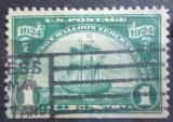 Poštovní známka USA 1924 Vylodění Hugenotů, 300. výročí Mi# 290