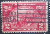 Poštovní známka USA 1924 Vylodění Hugenotů, 300. výročí Mi# 291