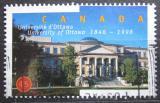 Poštovní známka Kanada 1998 Univerzita Ottawa, 150. výročí Mi# 1718