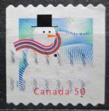 Poštovní známka Kanada 2005 Vánoce, sněhulák Mi# 2304