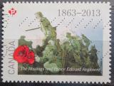 Poštovní známka Kanada 2013 Umění, Ted Zuber Mi# 3051