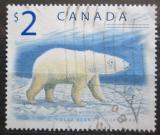 Poštovní známka Kanada 1998 Lední medvěd Mi# 1726