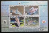 Poštovní známky Malta 2011 Ryby, WWF Mi# Block 49