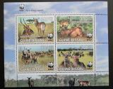 Poštovní známky Guinea-Bissau 2008 Voduška, WWF 423 Mi# 3919-22 Block