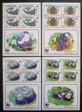 Poštovní známky Aitutaki 2002 Papoušci, WWF Mi# 772-75 Bogen