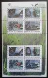 Poštovní známky Komory 2009 Netopýři, WWF Mi# 2212-15 Bogen
