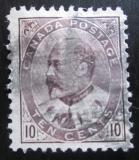 Poštovní známka Kanada 1903 Král Edward VII Mi# 81a Kat 19€