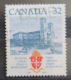 Poštovní známka Kanada 1984 Bazilika svatého Jana Mi# 924