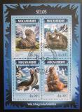 Poštovní známky Mosambik 2014 Lachtani Mi# 7335-38 Kat 11€