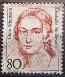 Poštovní známka Německo 1986 Clara Schumann, klavíristka Mi# 1305