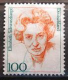 Poštovní známka Německo 1997 Elisabeth Schwarzhaupt, politička Mi# 1955