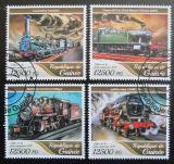 Poštovní známky Guinea 2017 Parní lokomotivy