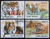 Poštovní známky Guinea-Bissau 2012 Tygři Mi# 6236-39 Kat 14€