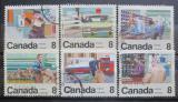 Poštovní známky Kanada 1974 Pošta Mi# 560-65