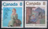 Poštovní známky Kanada 1975 Spisovatelky Mi# 591-92
